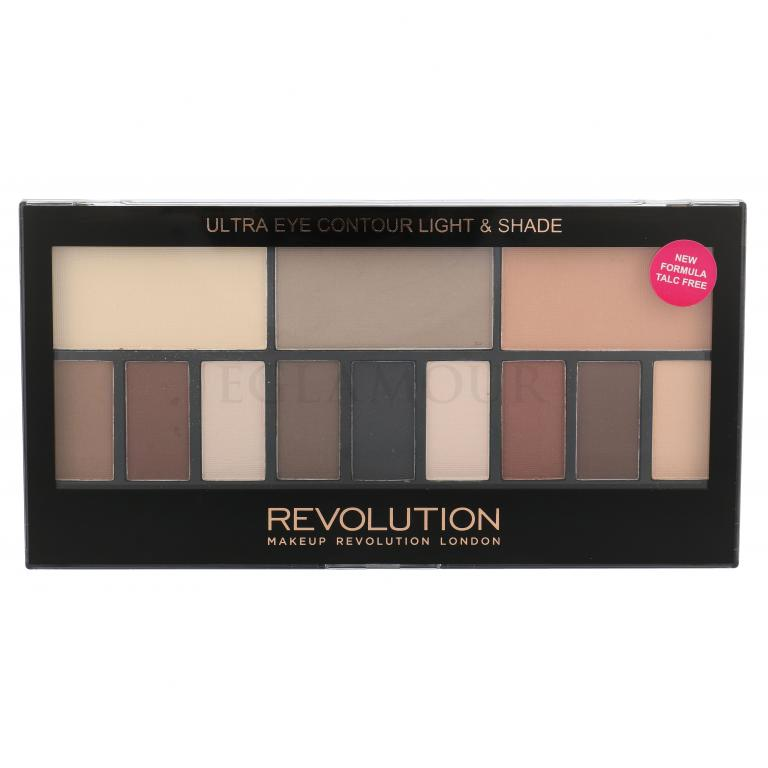 Makeup Revolution London Ultra Eye Contour Light & Shade Cienie do powiek dla kobiet