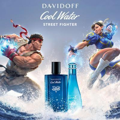 Davidoff Cool Water Street Fighter Champion Summer Edition Woda toaletowa dla mężczyzn 125 ml