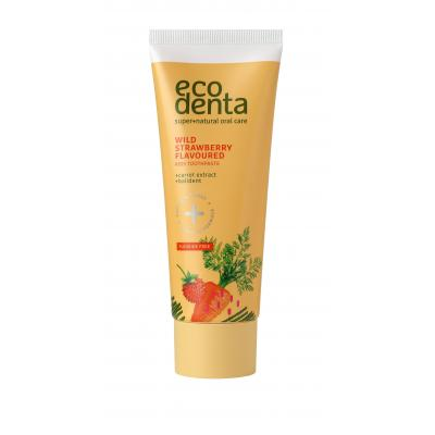 Ecodenta Toothpaste Wild Strawberry Flavoured Pasta do zębów dla dzieci 75 ml