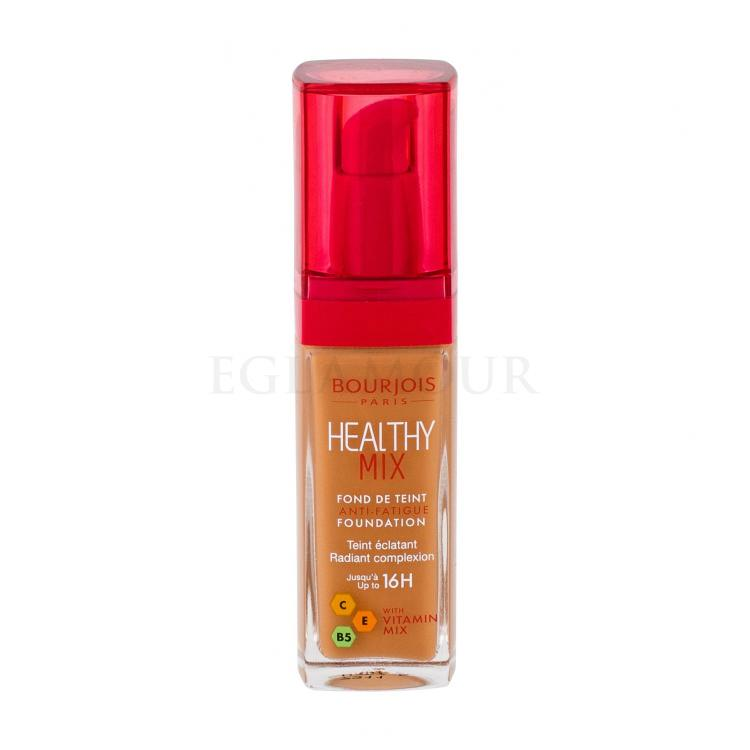 BOURJOIS Paris Healthy Mix Anti-Fatigue Foundation Podkład dla kobiet 30 ml Odcień 57,5 Golden Caramel