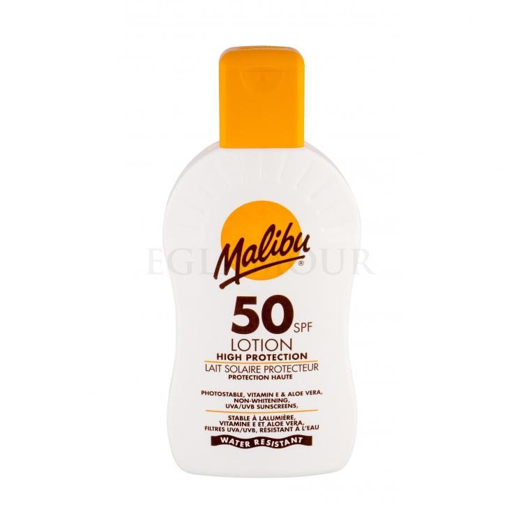 Malibu Lotion SPF 50 Preparat do opalania ciała 200 ml