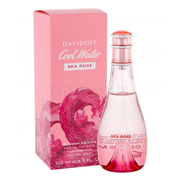 davidoff cool water sea rose summer edition