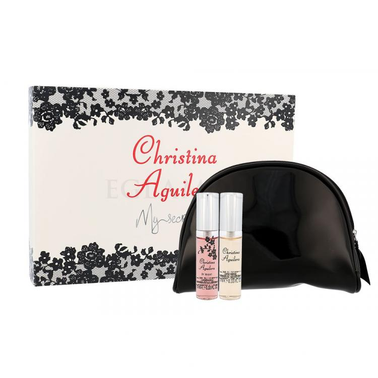Christina Aguilera Mini Set Zestaw dla kobiet Edp 10ml Christina Aquilera + 10ml Christina Aquilera by Night