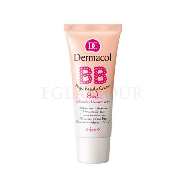 Dermacol BB Magic Beauty Cream SPF15 Krem BB dla kobiet 30 ml Odcień Shell