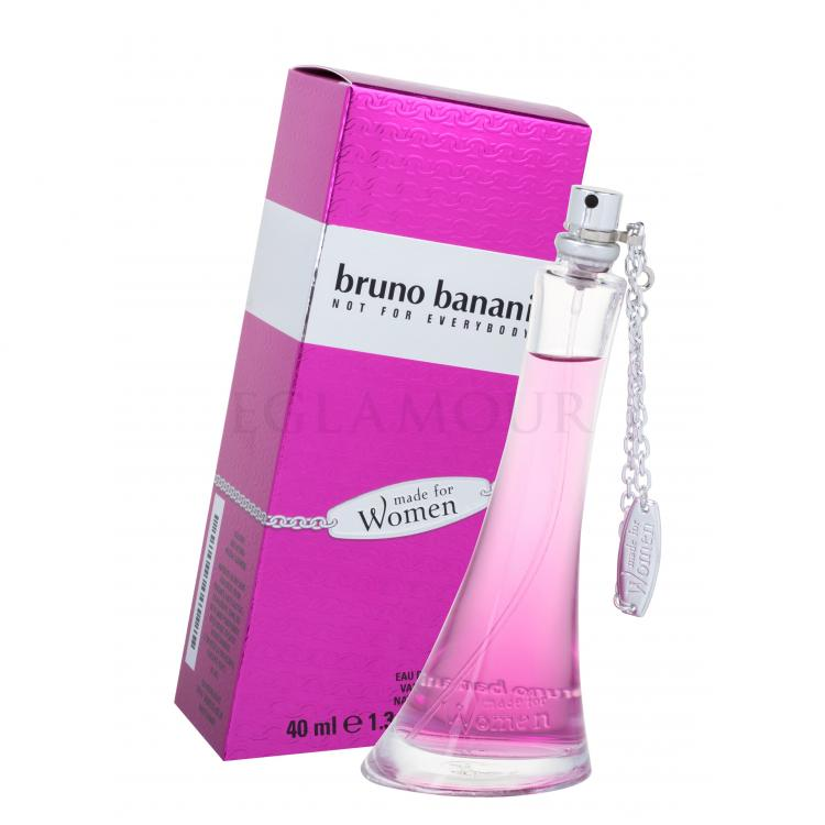 Bruno Banani Made For Women Woda toaletowa dla kobiet 40 ml