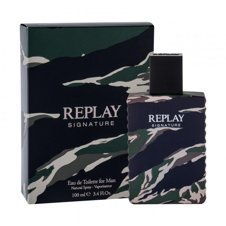 replay signature for man