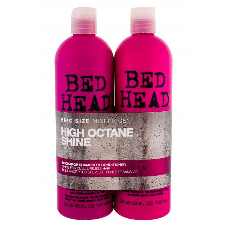 Tigi Bed Head Recharge High Octane Zestaw dla kobiet 750ml Bed Head Recharge High Octane Shampoo + 750ml Bed Head Recharge High Octane Conditioner