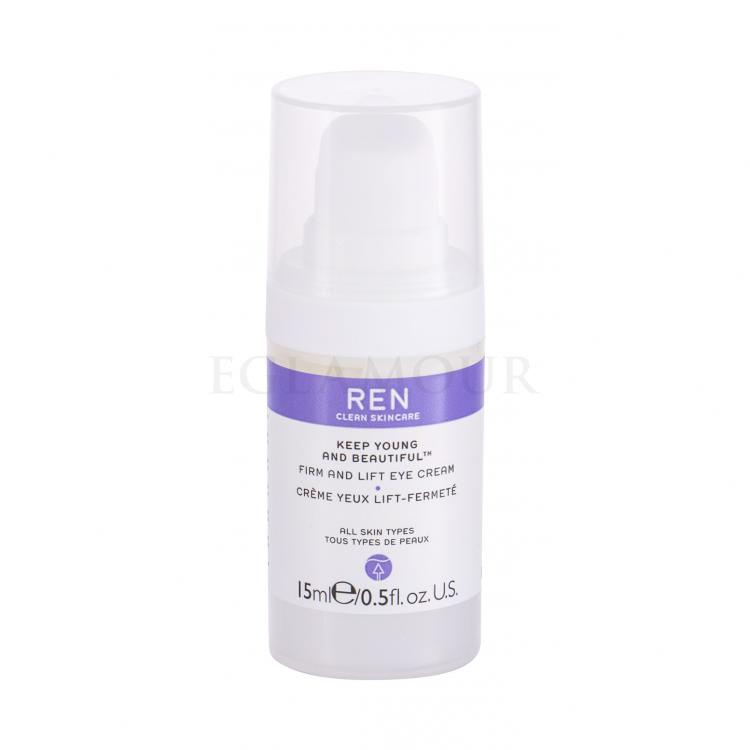 Ren Clean Skincare Keep Young And Beautiful Firm And Lift Kremy pod oczy dla kobiet