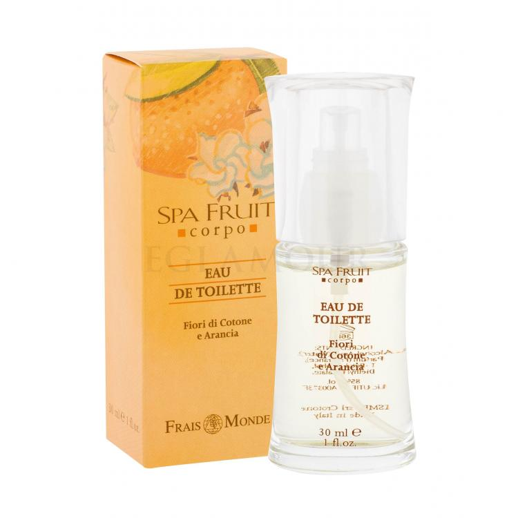 Frais Monde Spa Fruit Cotton Flower And Orange Wody toaletowe dla kobiet