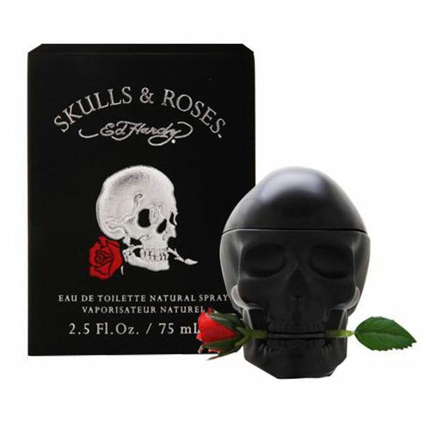 ed hardy skulls & roses for him