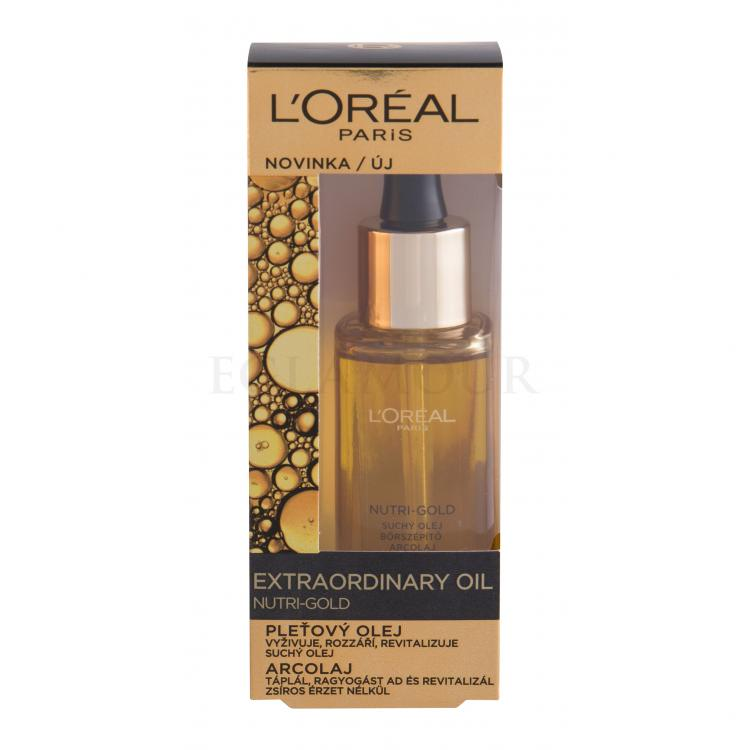 L´Oréal Paris Nutri-Gold Extraordinary Oil Serum do twarzy dla kobiet 30 ml