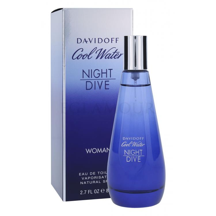 davidoff cool water woman night dive