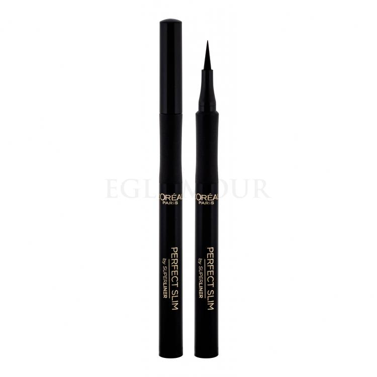 L´Oréal Paris Super Liner Perfect Slim Eyeliner dla kobiet 6 ml Odcień Intense Black