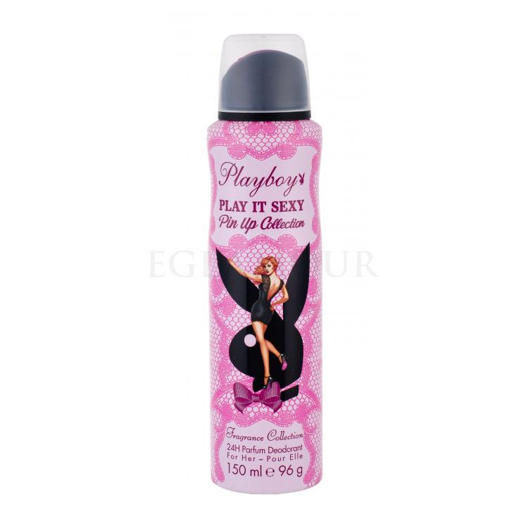 Playboy Play It Sexy Pin Up Dezodorant dla kobiet 150 ml