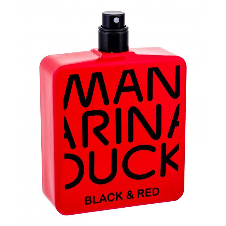 mandarina duck black & red